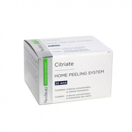 NEOSTRATA CITRIATE HOME PEELING SYSTEM 4 DISCOS