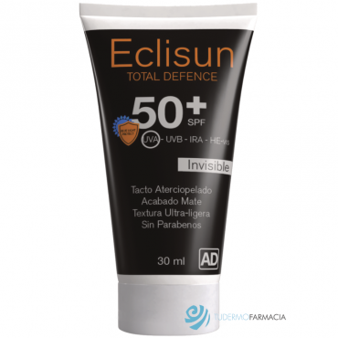 ECLISUN SPF 50+ FACIAL INVISIBLE TOTAL DEFENCE 30 ML